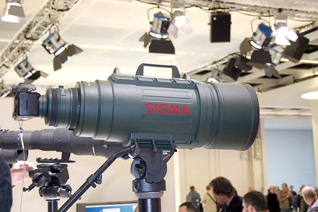 Sigma 500-200mm F2.8 APO EX DG
